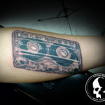 Tattoo tattoos austin best artist texas awesome badass cute wicked dark evil men women guys girls cool realism realistic color black and grey traditional art male female men's women's awesome cassette
