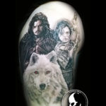 Tattoo tattoos austin best artist texas awesome badass cute wicked dark evil men women guys girls cool realism realistic color black and grey traditional art male female men's women's awesome got game of thrones