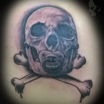 Tattoo tattoos austin best texas awesome ATX cute wicked dark evil men women guys girls cool realism realistic color black and grey traditional art male female men's women's colorbomb photo-realistic