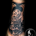Tattoo tattoos austin best artist texas awesome badass cute wicked dark evil men women guys girls cool realism realistic color black and grey traditional art male female men's women's awesome samurai japan