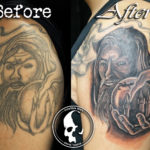 Tattoo tattoos austin best artist texas awesome badass cute wicked dark evil men women guys girls cool realism realistic color black and grey traditional art male female men's women's awesome cover-up