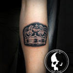 Tattoo tattoos austin best artist texas awesome badass cute wicked dark evil men women guys girls cool realism realistic color black and grey traditional art male female men's women's awesome crown